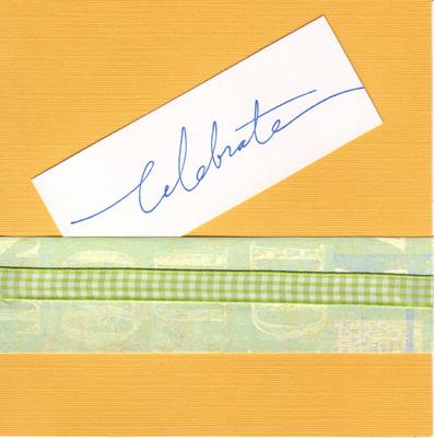 (SOLD) 014 - Celebrate