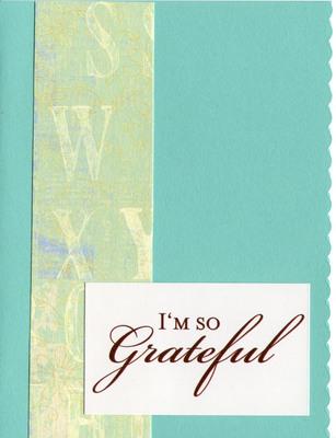 (SOLD) 027 - Grateful