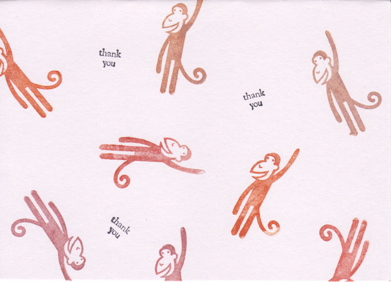 037 - Monkeys Thank