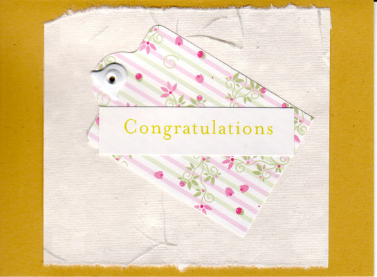 (SOLD) 043 - Congratulations