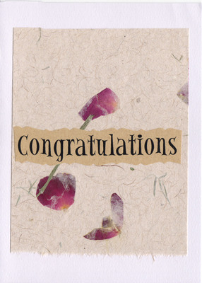 (SOLD) 062 - Congratulations