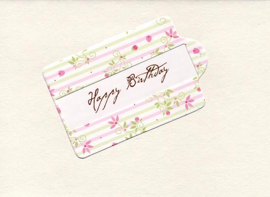 (SOLD) 098 - Happy Birthday