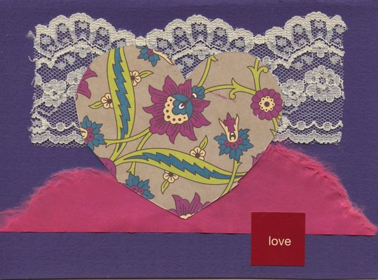 003 - Purple 'Love' with heart