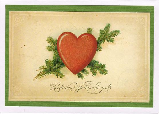 (SOLD) 008 - Vintage German (Heart)
