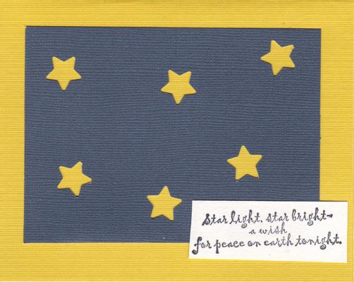 015 - Star Light, Peace