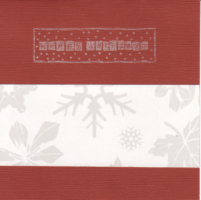 020 - Happy Holidays (red and white)