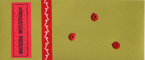 023 - Happy Holidays (ornaments, candycane)