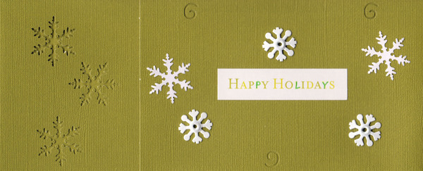 024 - Happy Holidays (snow)