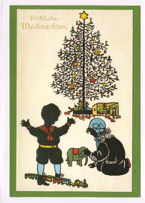 (SOLD) 027 - Vintage German (Around the tree)