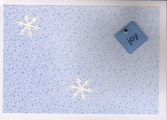 (SOLD) 036 - Joy (snowflakes)