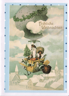 (SOLD) 037 - Vintage German (Santa Claus)
