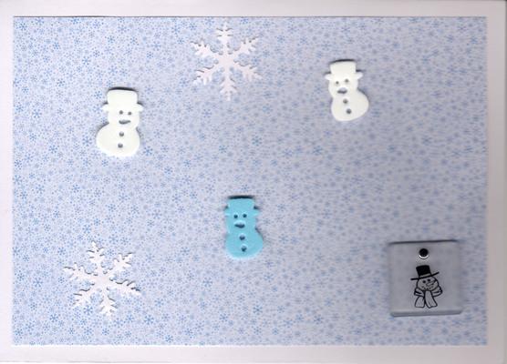 038 - Snow (snowflakes, snowmen)