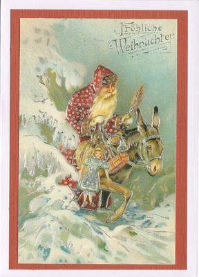 053 - Vintage German (Santa Claus)