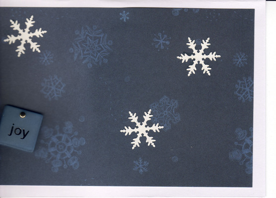 (SOLD) 058 - Joy (Snowflakes)