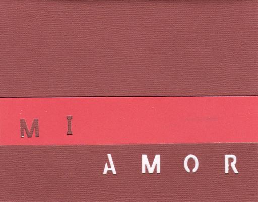 012 - Mi Amor