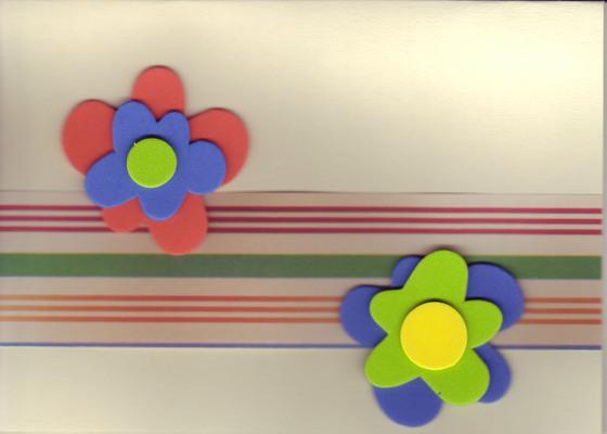 112 - Textured flowers