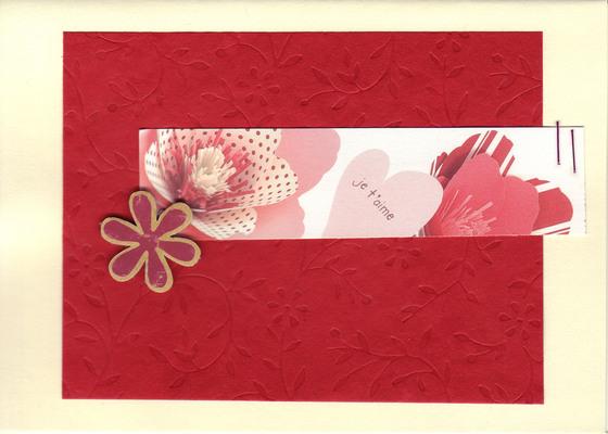 116 - Je t'aime (hearts & flowers)
