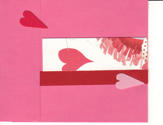 018 - Pink multilayered hearts