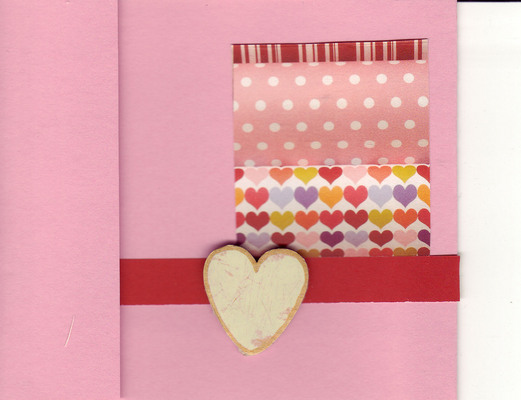 019 - Pink multilayered hearts