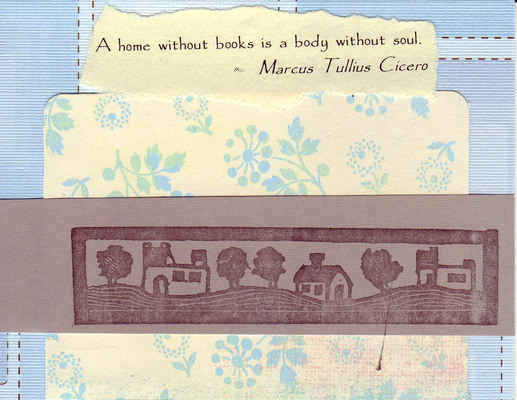 206 - Home quote with home stamp