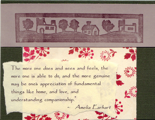207 - Home quote and home stamp