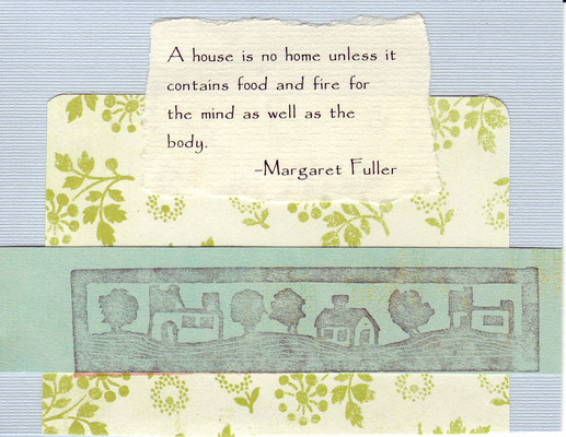 210 - Home quote with home stamp