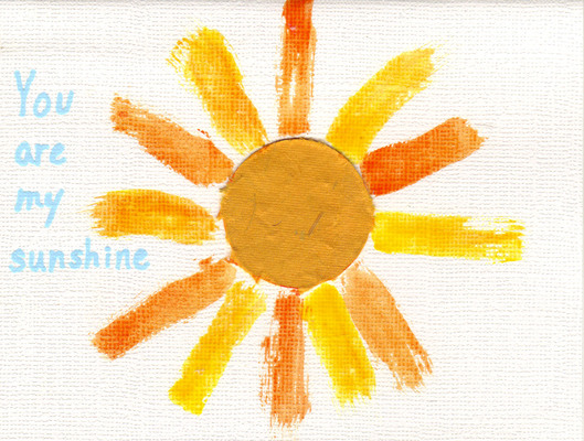 231 - 'You are my sunshine' with playful sun