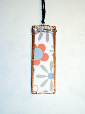 021 A - (SOLD) Soft retro flowers