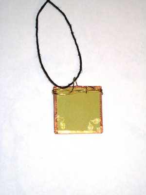 028 B - (SOLD) Green with leaves