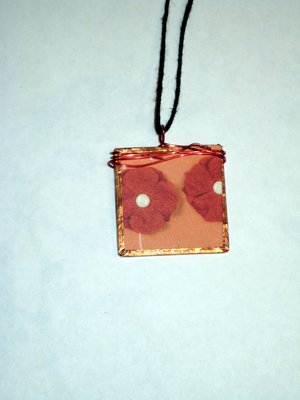 032 B - (SOLD) Red poppies