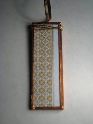 59 B - Gold pattern