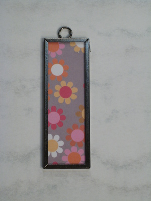(SOLD) 001 A - Retro flowers