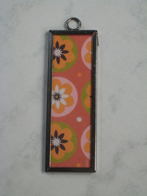 (SOLD) 012 A - Funky flowers