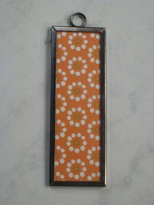 (SOLD) 012 B - Floral dot pattern