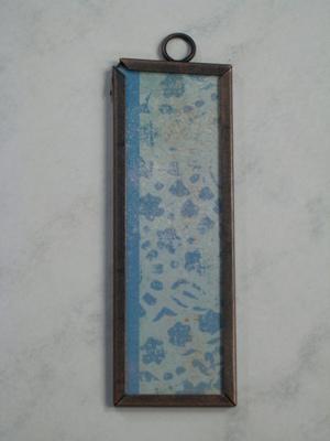 018 B - Blue stylized pattern