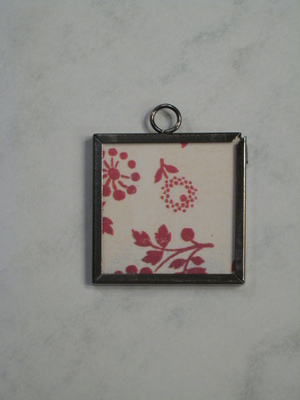 (SOLD) 025 A - Red flowers