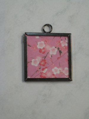 026 A - Pink cherry blossom