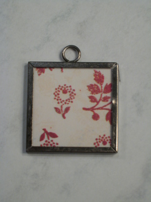 (SOLD) 027 B - Red flowers