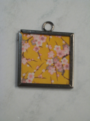028 A - Yellow cherry blossom