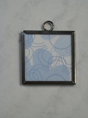 032 B - Blue pattern