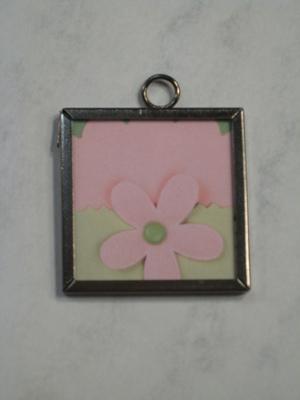 036 A - Pink flower