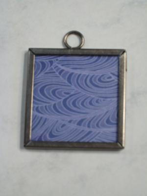 (HOLD) 037 B - Deep blue pattern