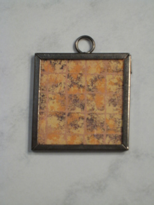040 A - Gold grid