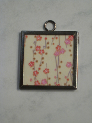 047 A - Beige cherry blossom