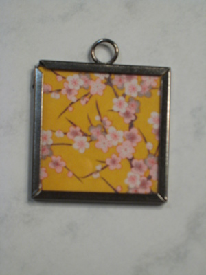 048 B - Yellow cherry blossom
