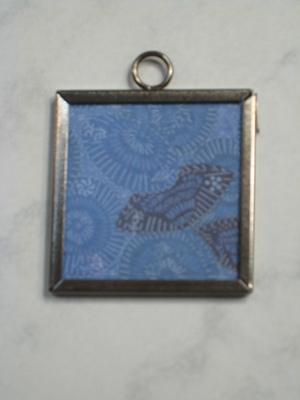 049 B - Blue patterns