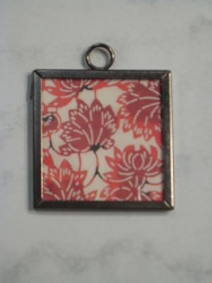 (SOLD) 051 A - Red flowers