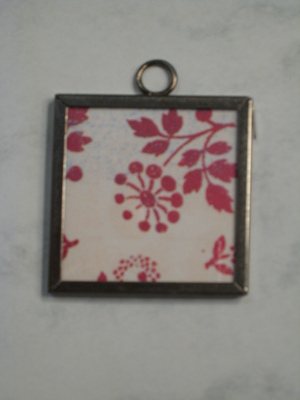 (SOLD) 051 B - Red flowers